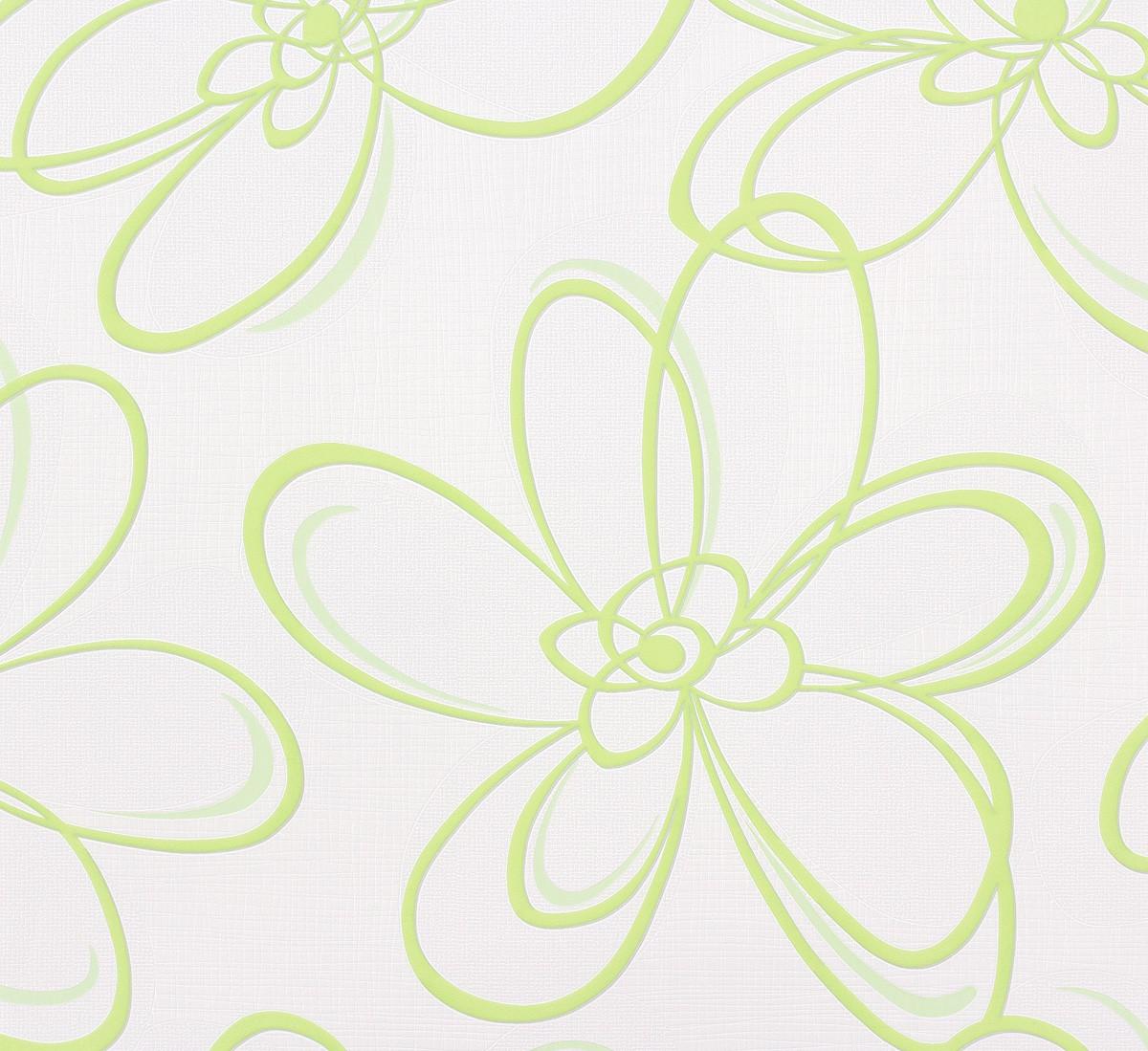 Vliestapete Floral Abstrakt Grun Weiss Wohnsinn 55610