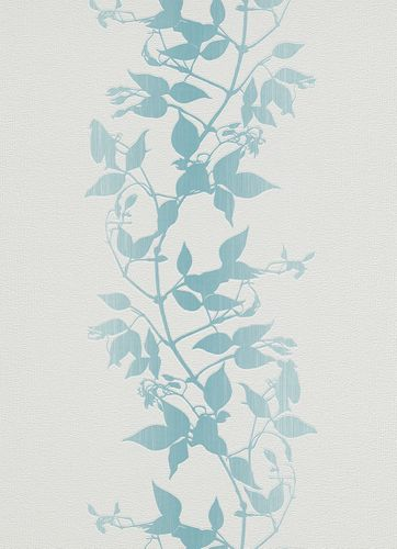 Non-woven wallpaper vines floral blue wallpaper Erismann Make Up 2 6926-18 692618 online kaufen