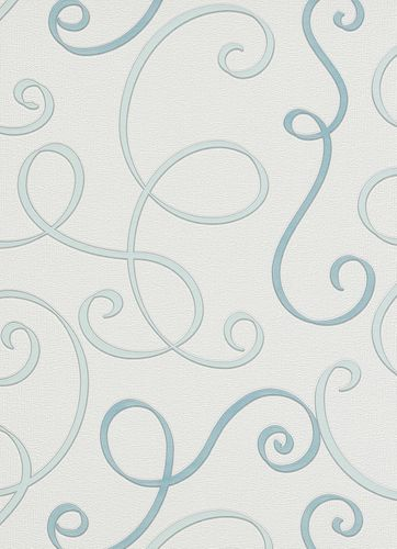 Non-woven wallpaper vines blue wallpaper Erismann Make Up 2 6928-18 692818 online kaufen