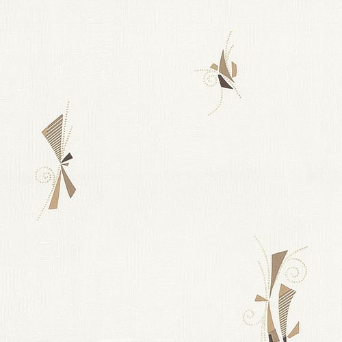 Non-woven wallpaper graphic beige brown wallpaper P+S Pure+Easy 13292-20