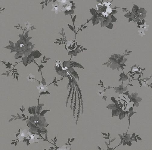 Vliestapete Blumen grau anthrazit Rasch 440645 online kaufen