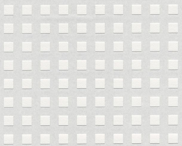Wallpaper paintable squares modern white AS Meistervlies PRO 3382-11 online kaufen