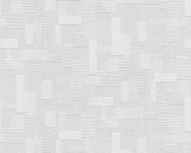 Wallpaper paintable stripes structure white AS Meistervlies GO 2625-16 online kaufen