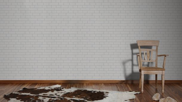 Non-Woven Wallpaper Paintable Stone Wall AS Creation 2453-11 online kaufen