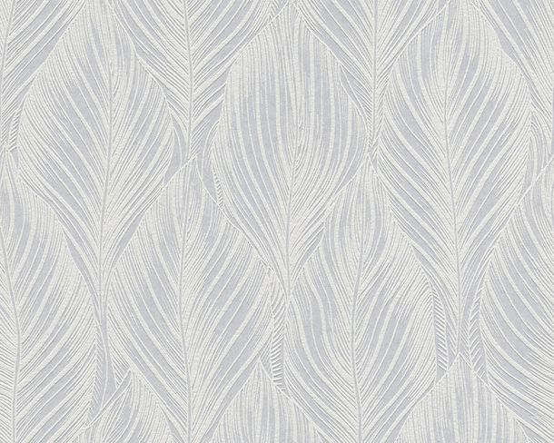 Wallpaper paintable floral leaves white AS Meistervlies PRO 2509-19 online kaufen