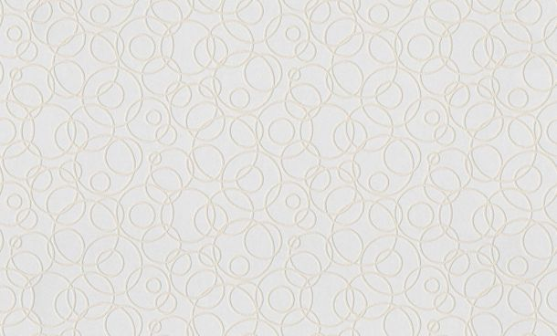 Wallpaper paintable circles 3D-Optik white AS Meistervlies GO 3D 9658-13 online kaufen