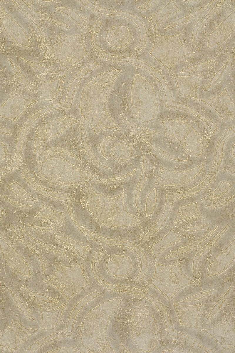 Vliestapete Design Barock gold beige metallic Dieter Langer View 55968 001