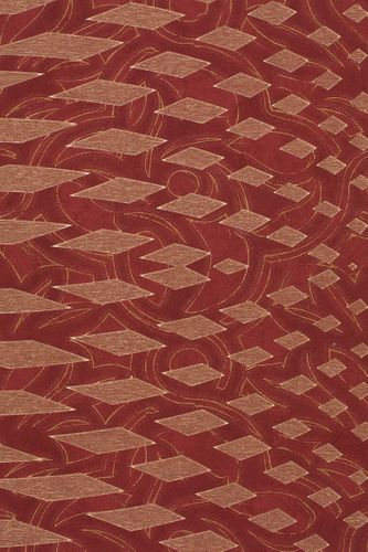 Wallpaper Dieter Langer graphic red gold 55959 online kaufen