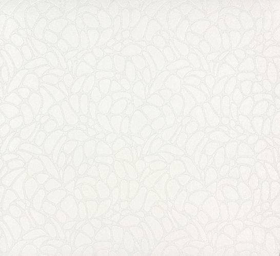 non-woven wallpaper paintable design circles white wallpaper Patent Decor 3D Marburg 9455 online kaufen