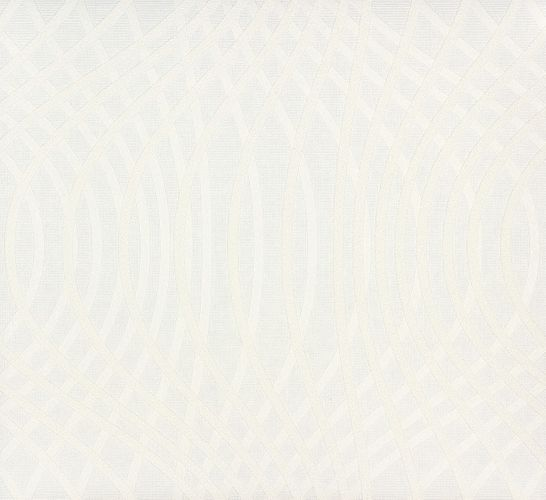 non-woven wallpaper paintable waves white wallpaper Patent Decor 3D Marburg 9452 online kaufen