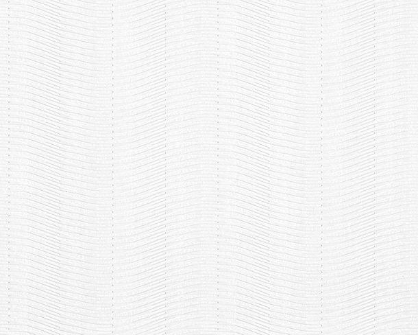 Wallpaper paintable striped white Pigment 94439-1