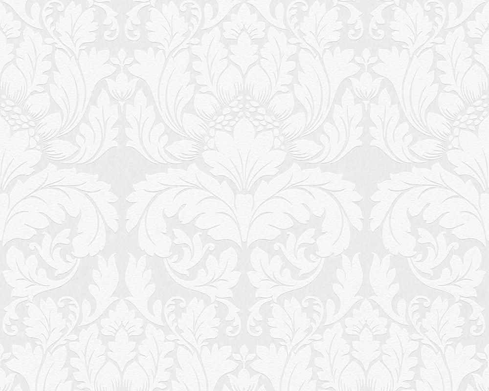 vliestapete berstreichbar barock wei ap pigment 95135 1. Black Bedroom Furniture Sets. Home Design Ideas