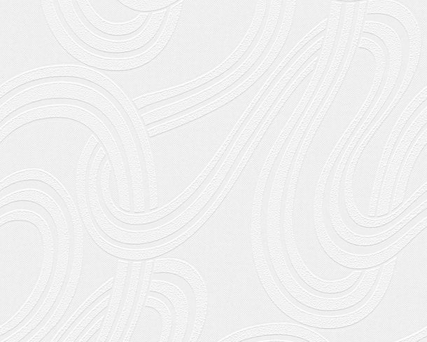 Wallpaper paintable graphic white Pigment 95254-1