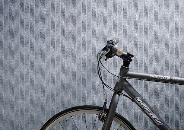 Wallpaper paintable striped white Pigment 9528-13 online kaufen