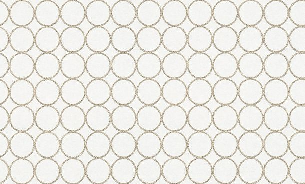 Wallpaper paintable circles white Pigment 95293-1 online kaufen