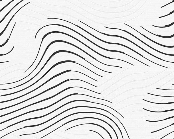 Wallpaper paintable waves white Pigment 9530-18 online kaufen