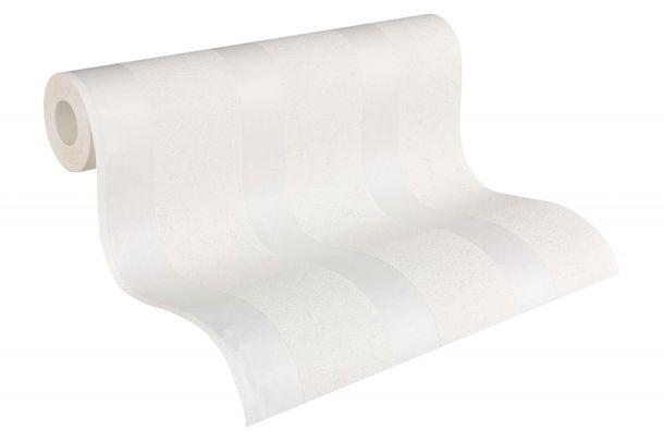 Wallpaper paintable striped white Pigment 9571-15 online kaufen