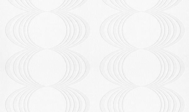 Wallpaper paintable circles white Pigment 9590-10 online kaufen
