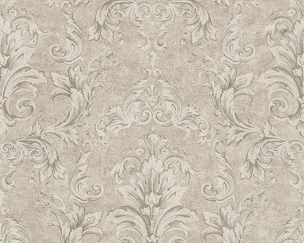 Wallpaper Versace Ornament Silver Beige 96215 3 001