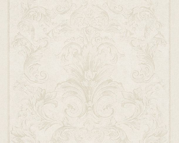 Wallpaper Versace ornament silver creamwhite 96216-4