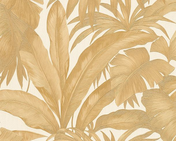 Wallpaper Versace nature cream gold 96240-4