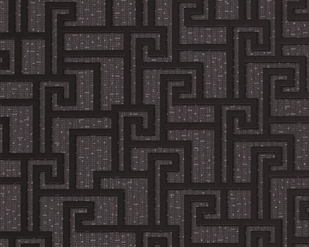 Wallpaper Versace graphic anthracite 96236-3