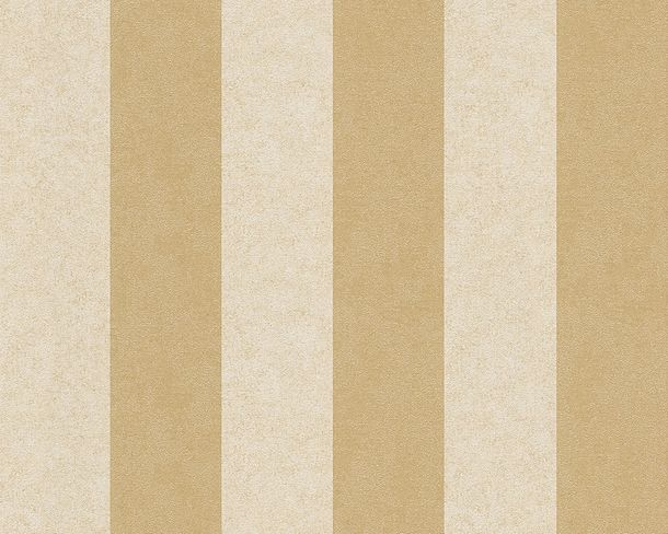 Wallpaper Versace striped cream gold 96217-5 online kaufen