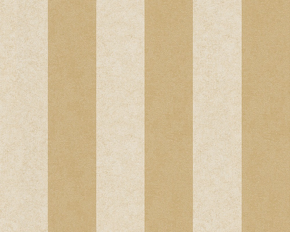 Wallpaper Versace Striped Cream Gold 96217 5