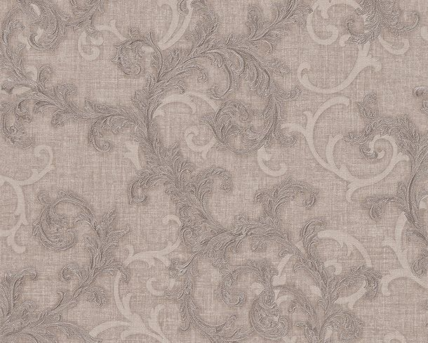 Wallpaper Versace ornament grey silver 96231-1