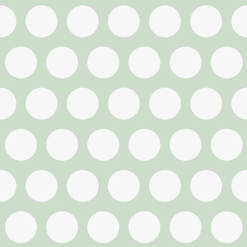Kids Wallpaper Circles mint green white 128711