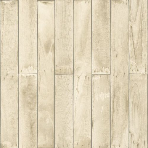 wallpaper non-woven wood grey cream beige 137743