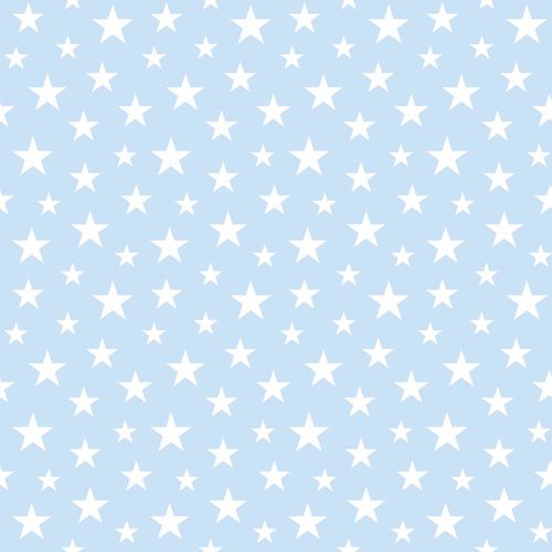 wallpaper non-woven stars blue white 138729