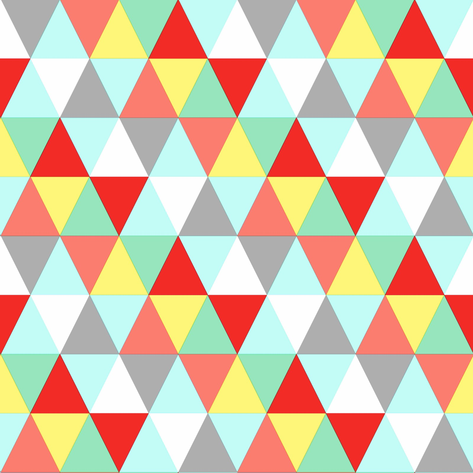 wallpaper non-woven triangle blue green yellow 138715