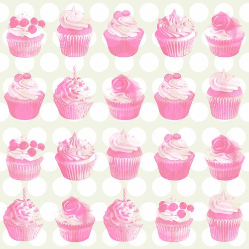 wallpaper non-woven cupcake metallic rose beige 138723 online kaufen