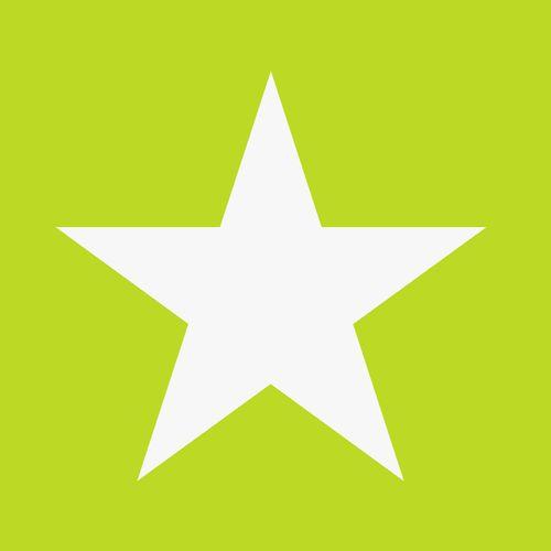 wallpaper non-woven stars green white 138708 online kaufen