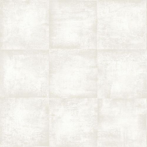138201 Non-Woven Wallpaper squared structure cream white Vintage Rules! online kaufen