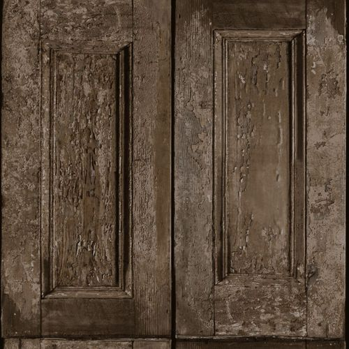 138211 Non-Woven Wallpaper wood brown Vintage Rules! online kaufen
