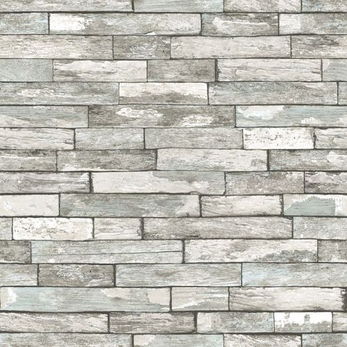 138240 Non-Woven Wallpaper wood white grey blue online kaufen
