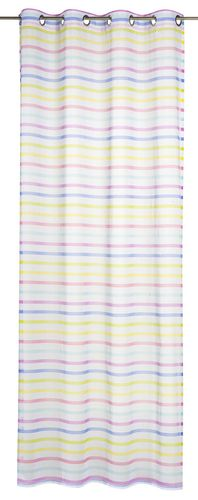 Eyelet curtain transparent Feel Good Kid's Club stripes colorful 196165 online kaufen