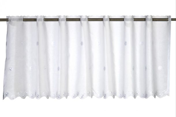 Half-curtain country house style Sun Valley transparent white 195052 online kaufen
