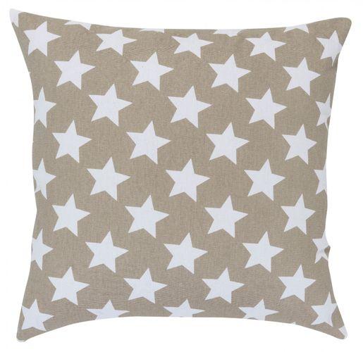 Pillow brown stars 45x45 cm Elbersdrucke 195915