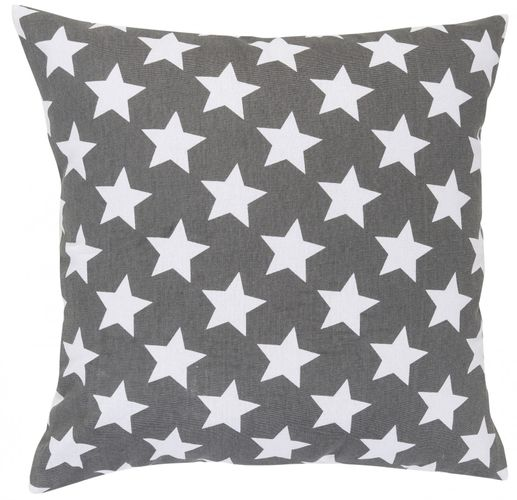 Pillow grey stars 45x45 cm Elbersdrucke 195922