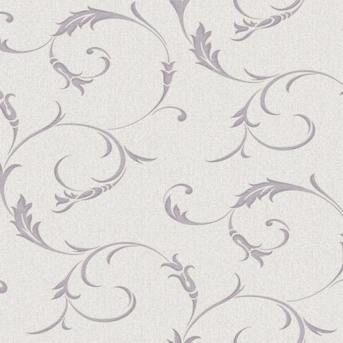 Wallpaper floral beige purple Graham & Brown Midas 20-729