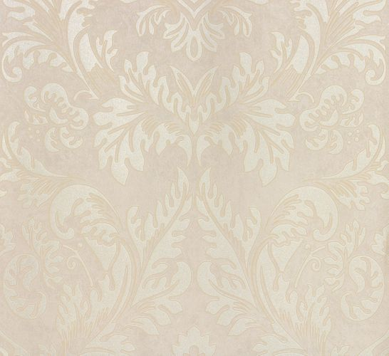 Non-woven wallpaper cream silver baroque Marburg 56803 online kaufen