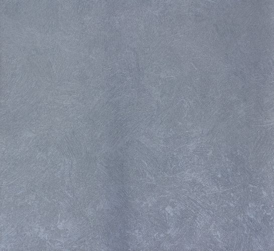 Non-woven wallpaper blue metallic uni Marburg 56835