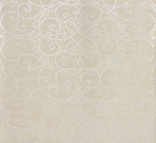 Non-woven wallpaper cream silver baroque Marburg 56816 online kaufen