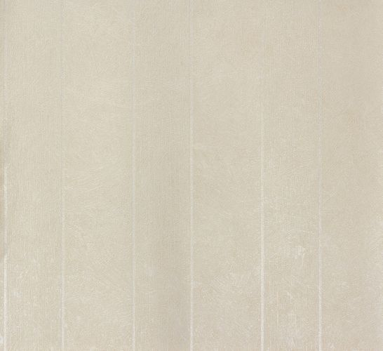 Non-woven wallpaper cream silver stripes Marburg 56850 online kaufen