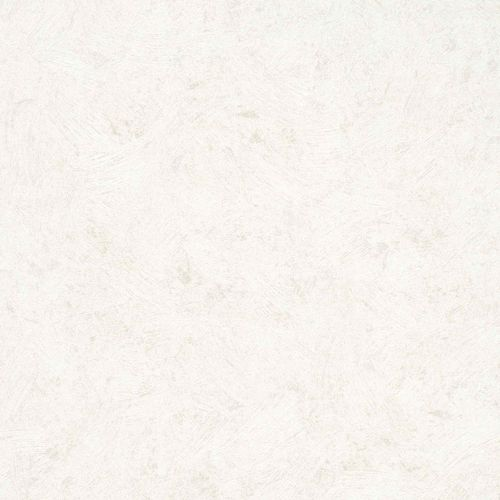 Non-Woven Wallpaper Plain Plaster white Metallic 56839