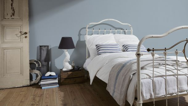 Non-Woven Wallpaper plain plaster texture grey 3095-18 online kaufen