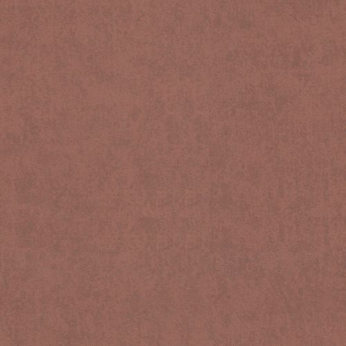 Non-Woven Wallpaper Plain terracotta Metallic 56136
